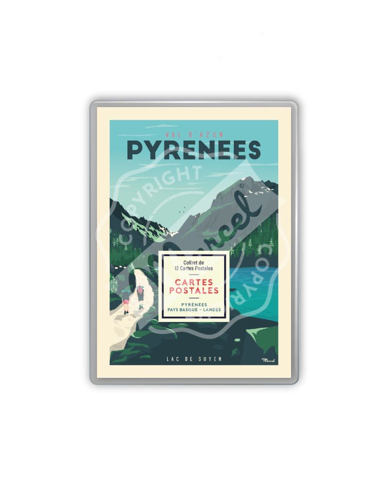 POSTCARDS BOX PYRENEES,...