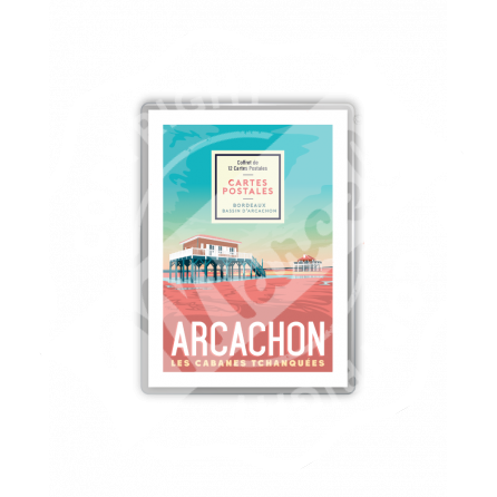 COFFRET CARTES POSTALES BORDEAUX  / BASSIN D'ARCACHON