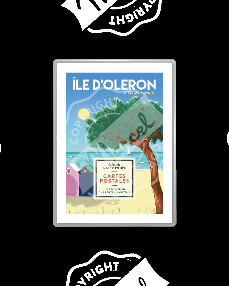 POSTCARDS BOX ÎLE D'OLERON / CHARENTE MARITIME