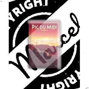 MAGNET PIC DU MIDI de Bigorre