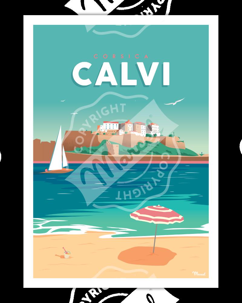 Affiche CALVI