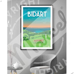"""Poster Bidart """"Erretegia"""""""