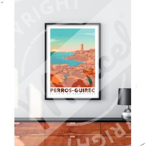 Affiche PERROS-GUIREC