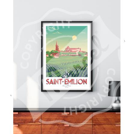 Affiche SAINT-EMILION