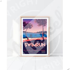 Affiche SWIMRUN HOSSEGOR 2019