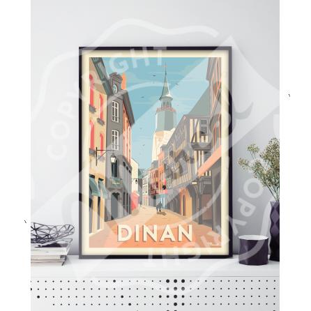 Affiche DINAN