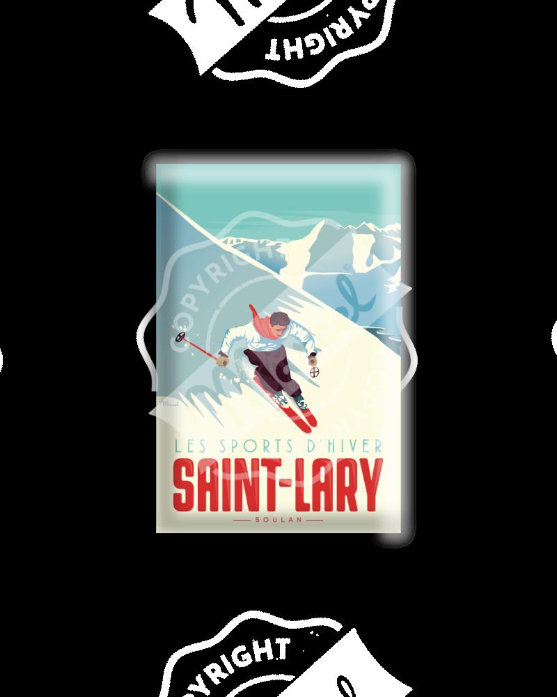 MAGNET SAINT-LARY LE SKIEUR