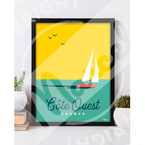 """Cote Ouest """"BOAT"""""""