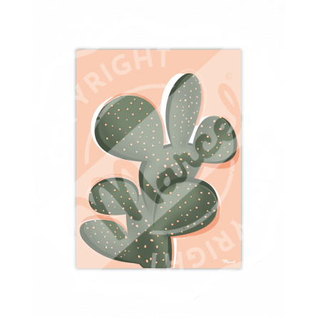 Affiche Marcel Small Edition - CACTUS