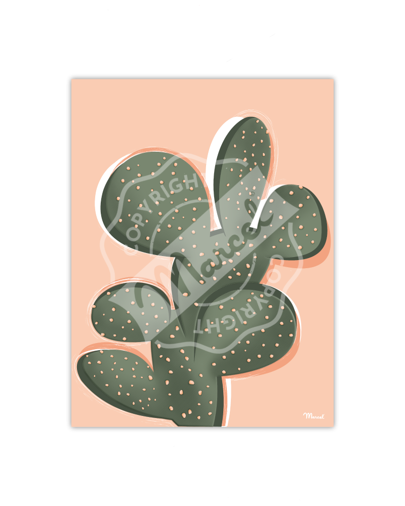 Poster Small Edition - CACTUS