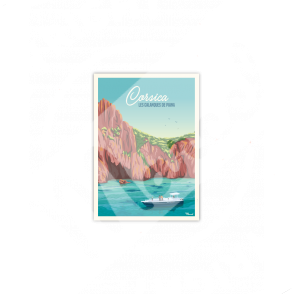 Carte Postale CORSICA « Calanques de Piana »