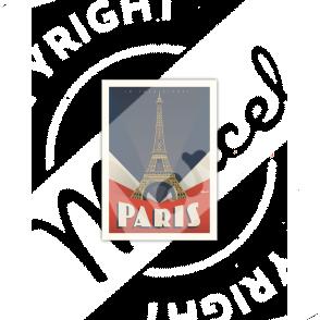 Carte Postale Paris « Tour Eiffel »