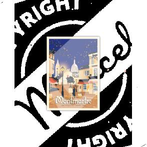 """Carte Postale MONTMARTRE """"Place du Tertre"""""""