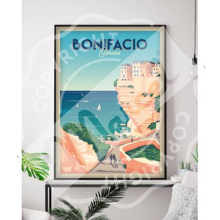 Affiche BONIFACIO