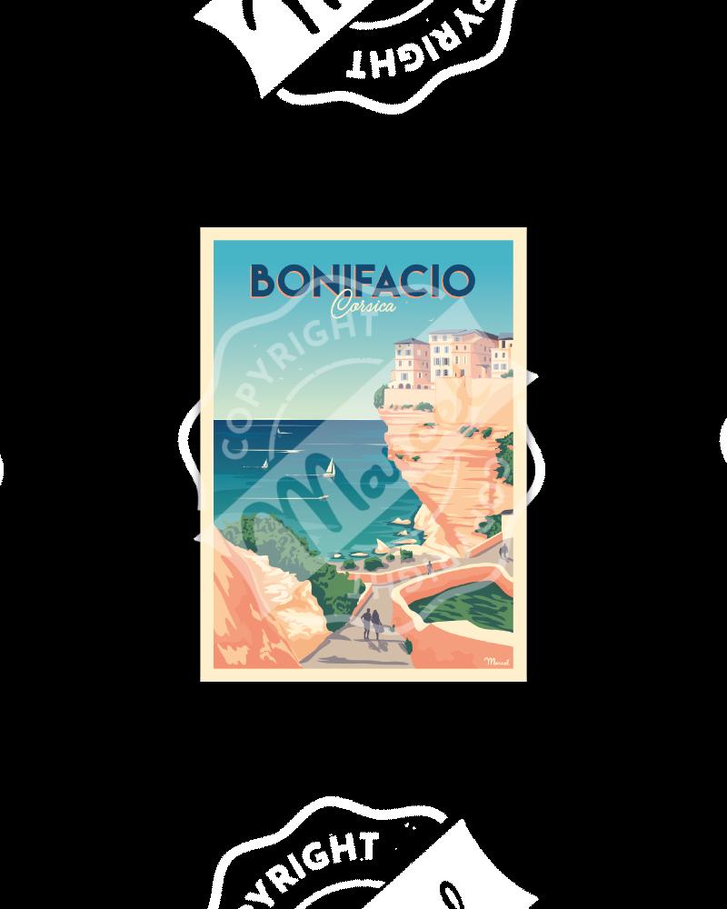 Carte Postale BONIFACIO