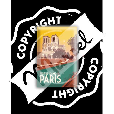 MAGNET PARIS NOTRE-DAME-DE-PARIS