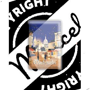 MAGNET MONTMARTRE - Place du Tertre
