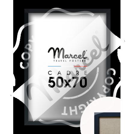 Black Wood Frame 50x70