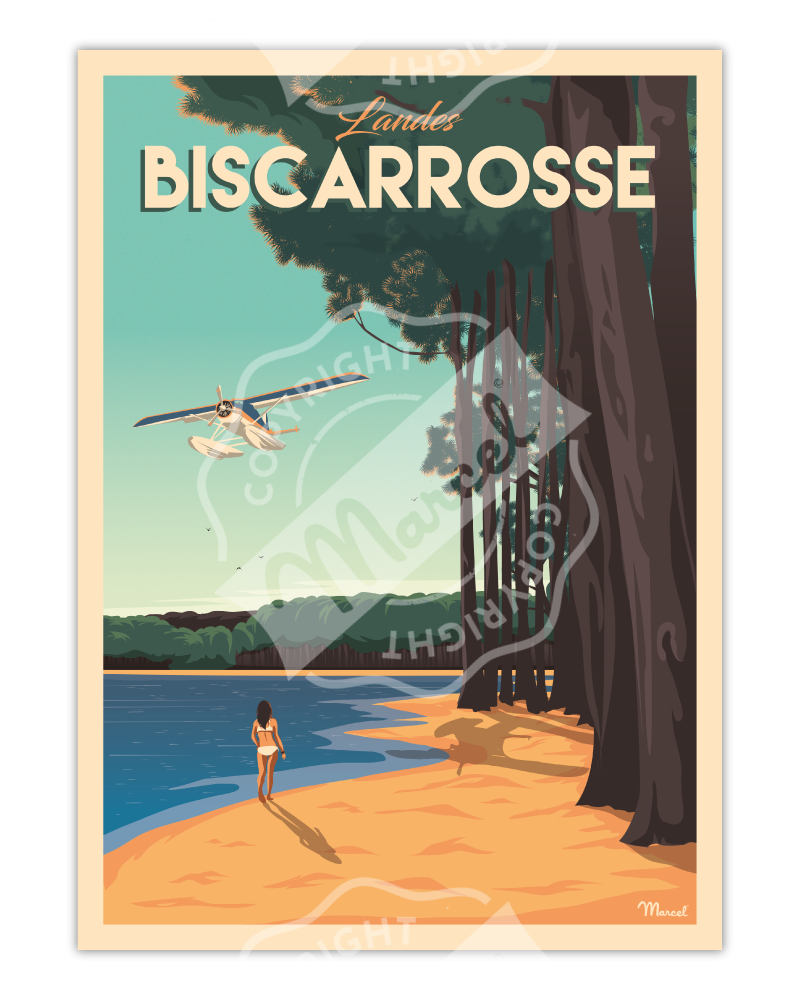Affiche BISCARROSSE