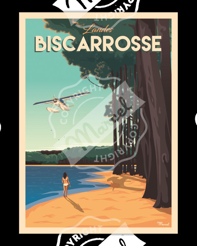 Poster BISCARROSSE
