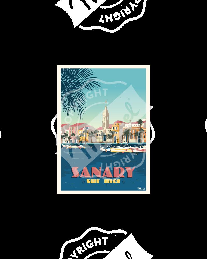 Carte Postale SANARY-SUR-MER
