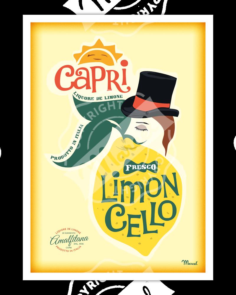 Poster LIMONCELLO