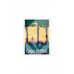"CANAL DU MIDI ""Vélo"""