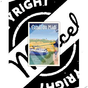 """CANAL DU MIDI """"Randonnée"""""""