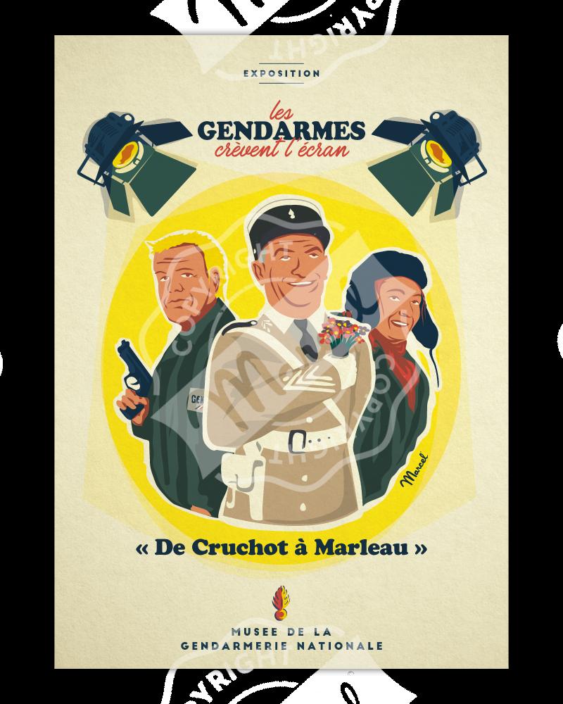 """""""Les Gendarmes crèvent l'écran"""""""
