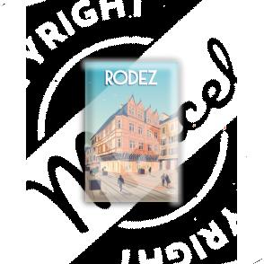 """MAGNET RODEZ """"Place de l'Olmet"""""""