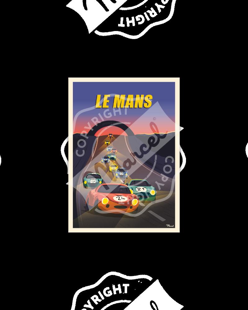 Cartes Postales LE MANS