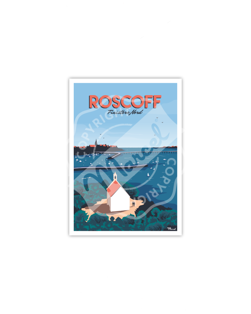 "Postcard ROSCOFF ""Finistère Nord"""