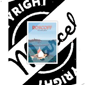 "Carte Postale ROSCOFF ""Finistère Nord"""