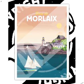 Affiche BAIE DE MORLAIX