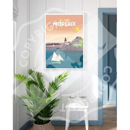 Poster BAIE DE MORLAIX