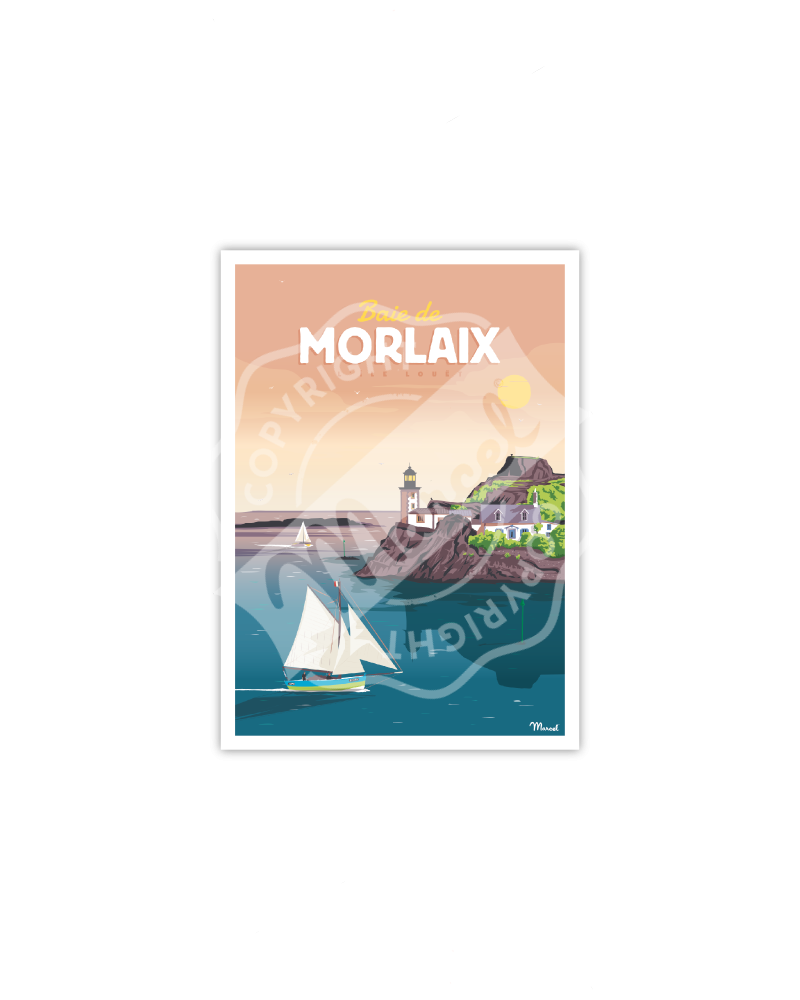 Postcard BAIE DE MORLAIX