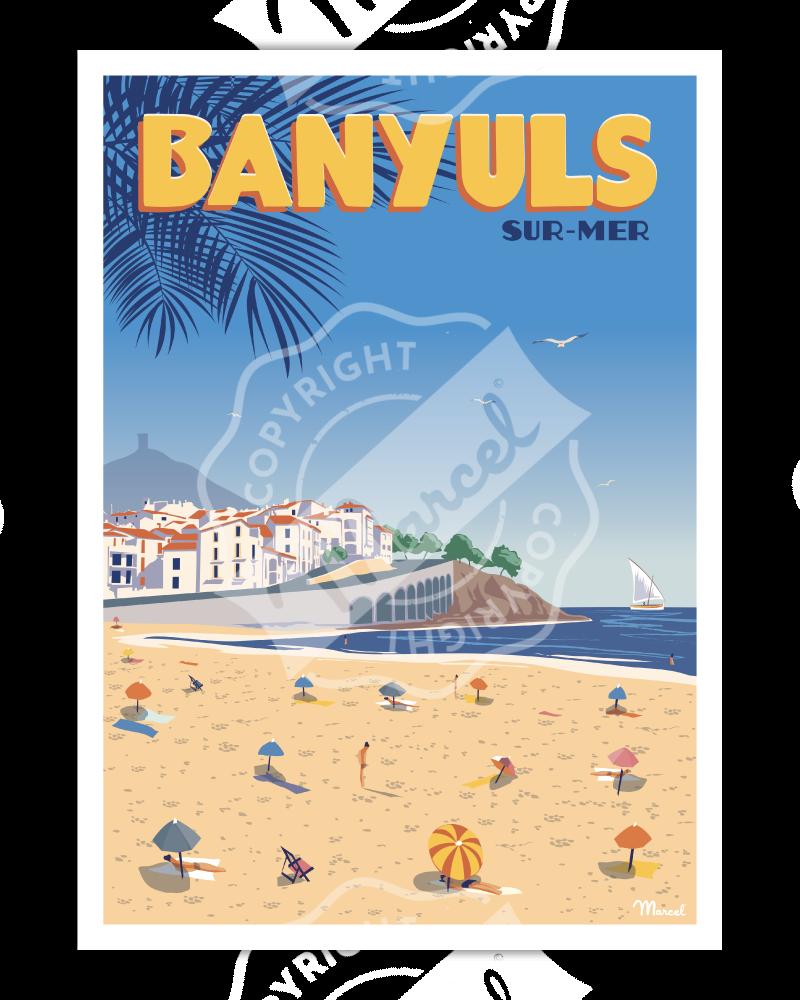 Poster BANYULS SUR MER