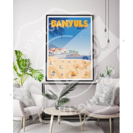 Affiche BANYULS SUR MER