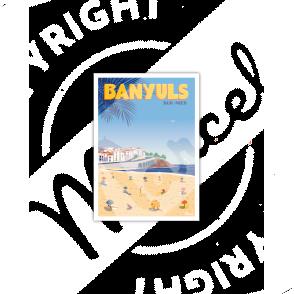 Postcard BANYULS SUR MER