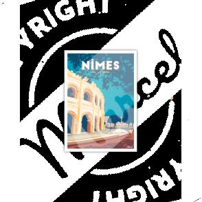 Postcard NIMES «Les Arènes»