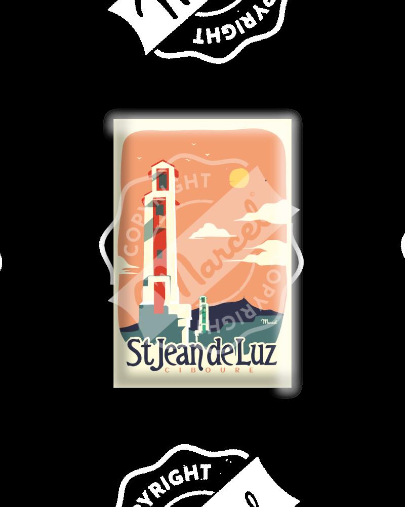"""MAGNET LES PHARES """" Saint Jean de Luz - Ciboure"""""""