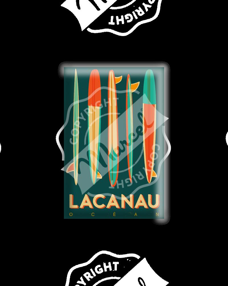 MAGNET LACANAU SURFBOARDS