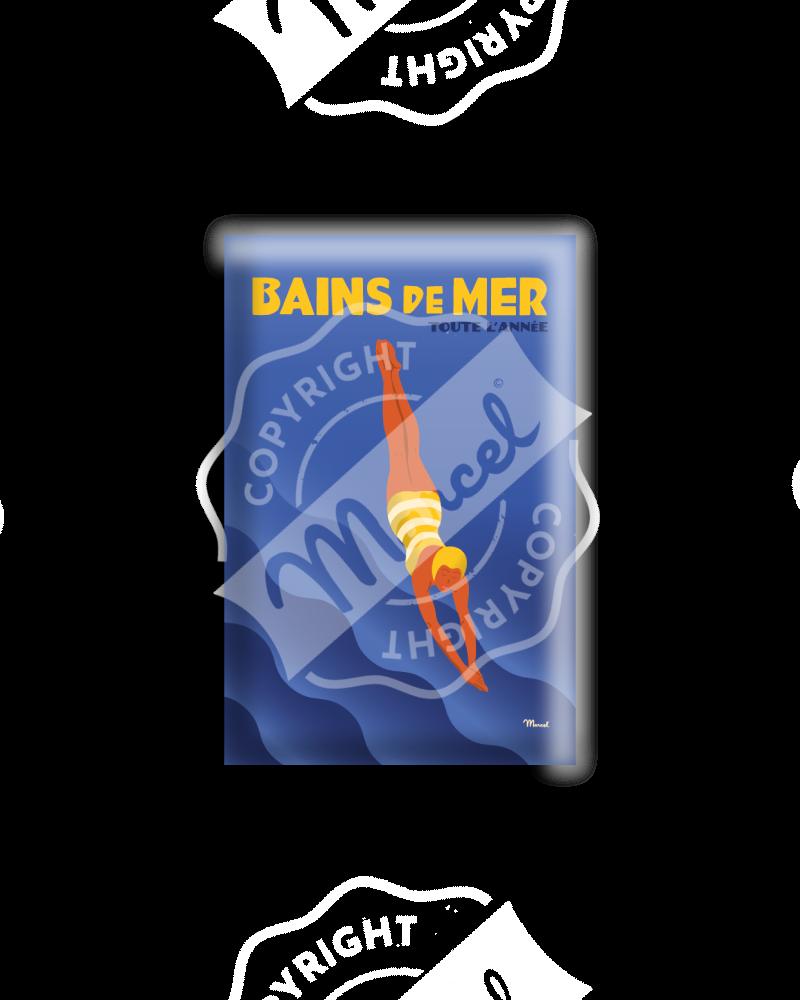 MAGNET BAINS DE MER INDIGO POP
