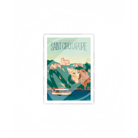 Carte Postale ST CIRQ LAPOPIE