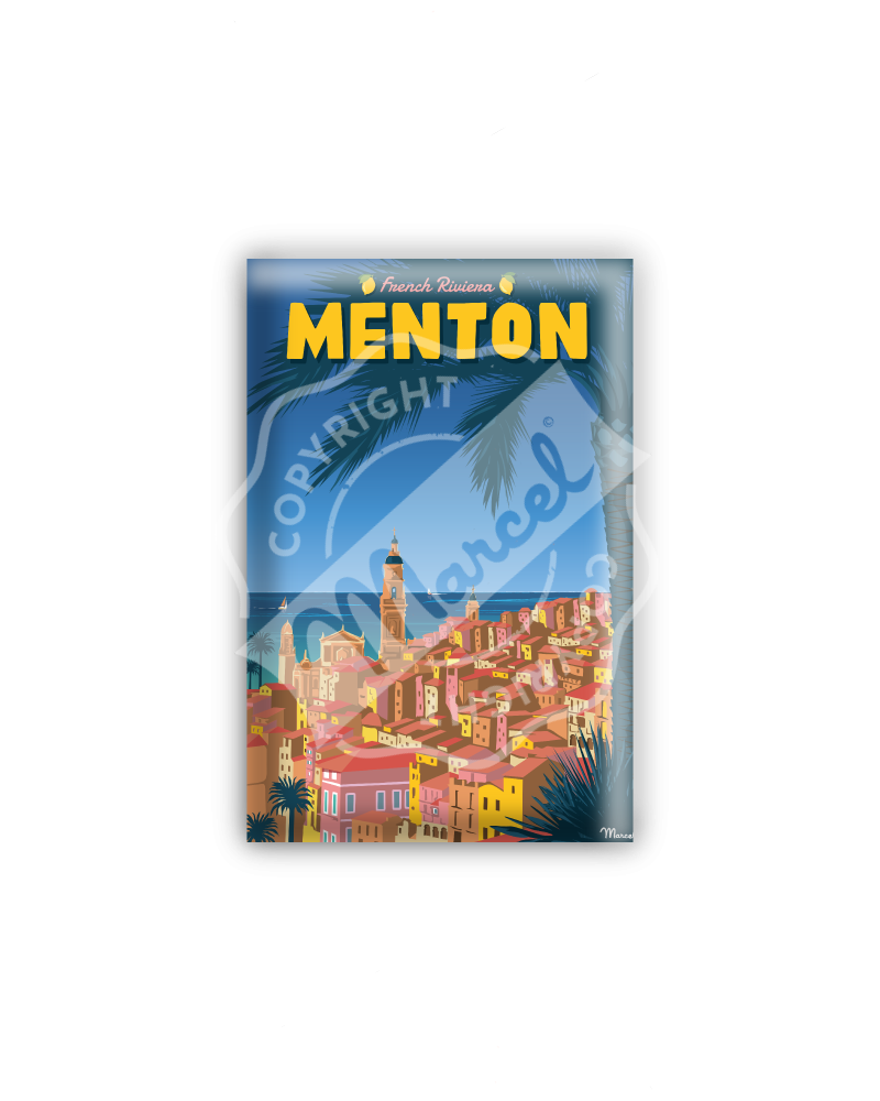 "MAGNET MENTON ""French Riviera"""