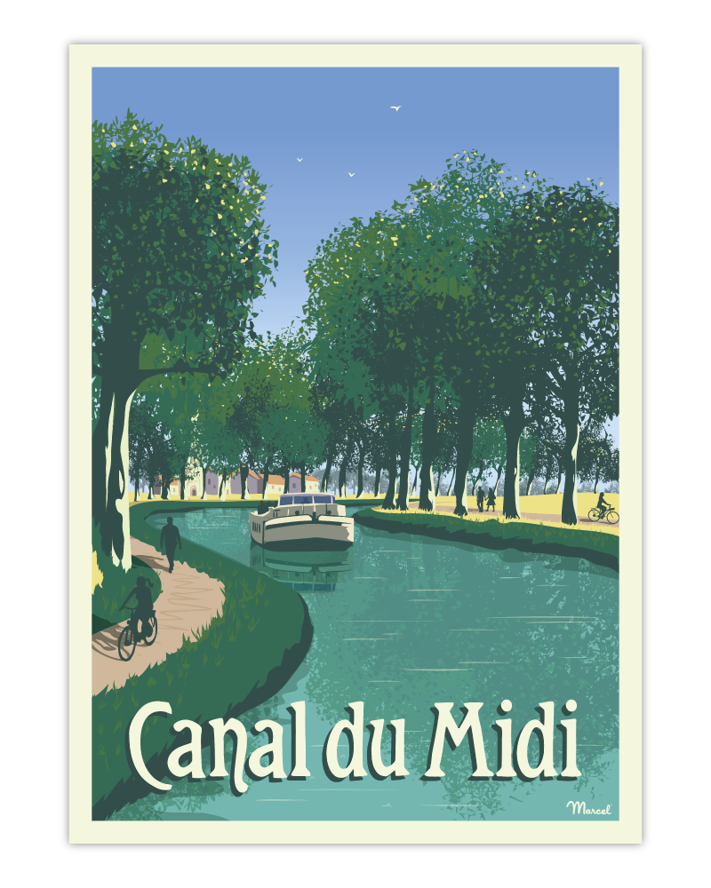 Poster CANAL DU MIDI