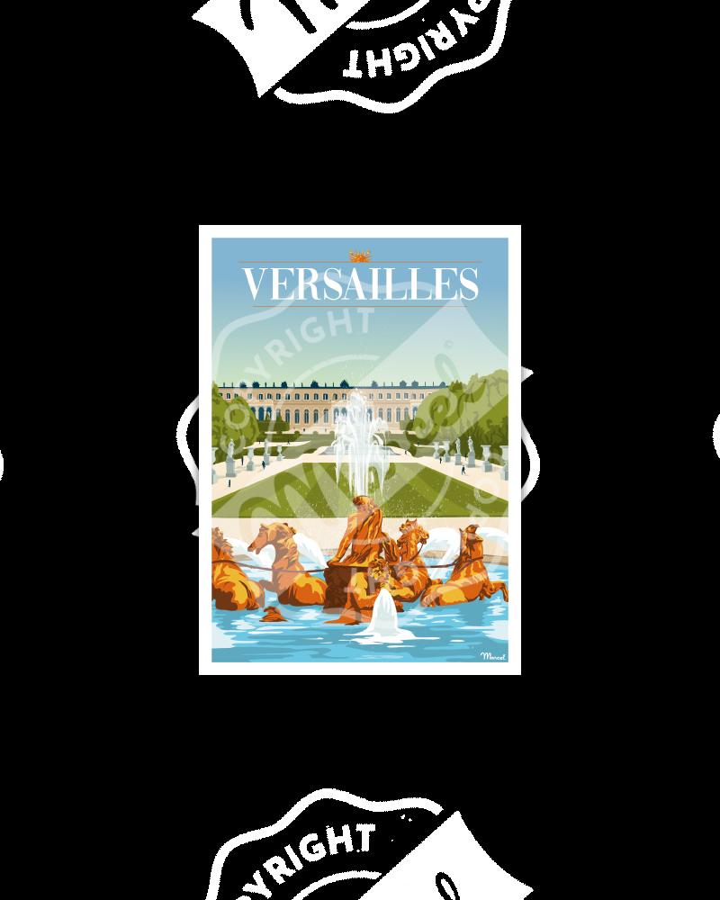Postcard VERSAILLES