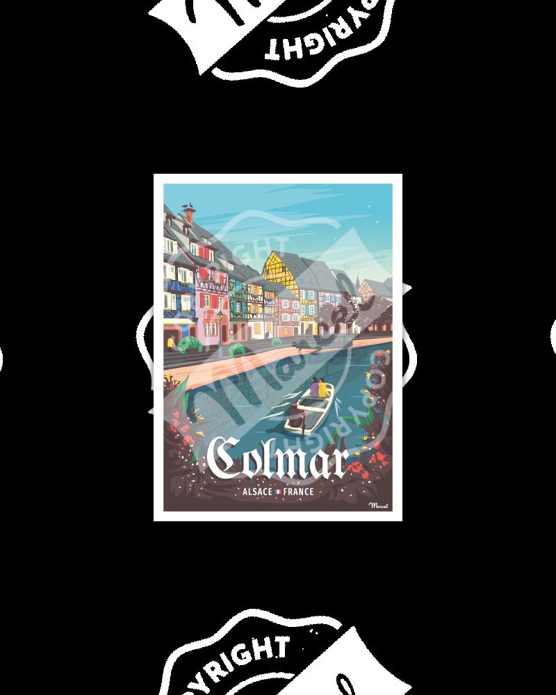 Postcard COLMAR