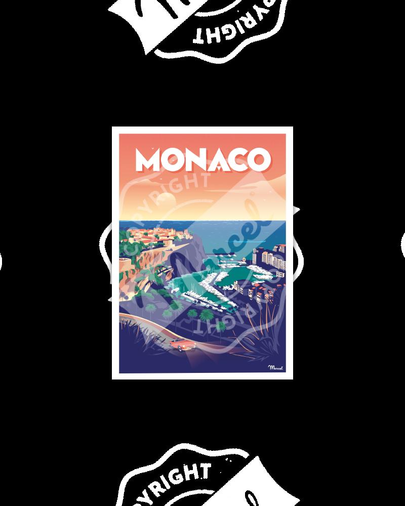 Postcard MONACO