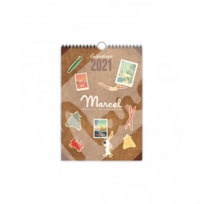 CALENDRIER MARCEL 2021